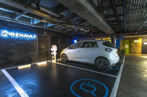Estaciones de carga de vehiculos electricos Oasis